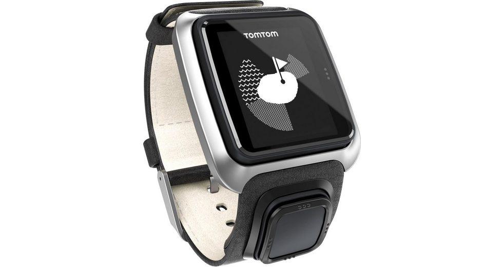 TomTom GPS-Uhr »GOLFER Premium Pack (Leder )«