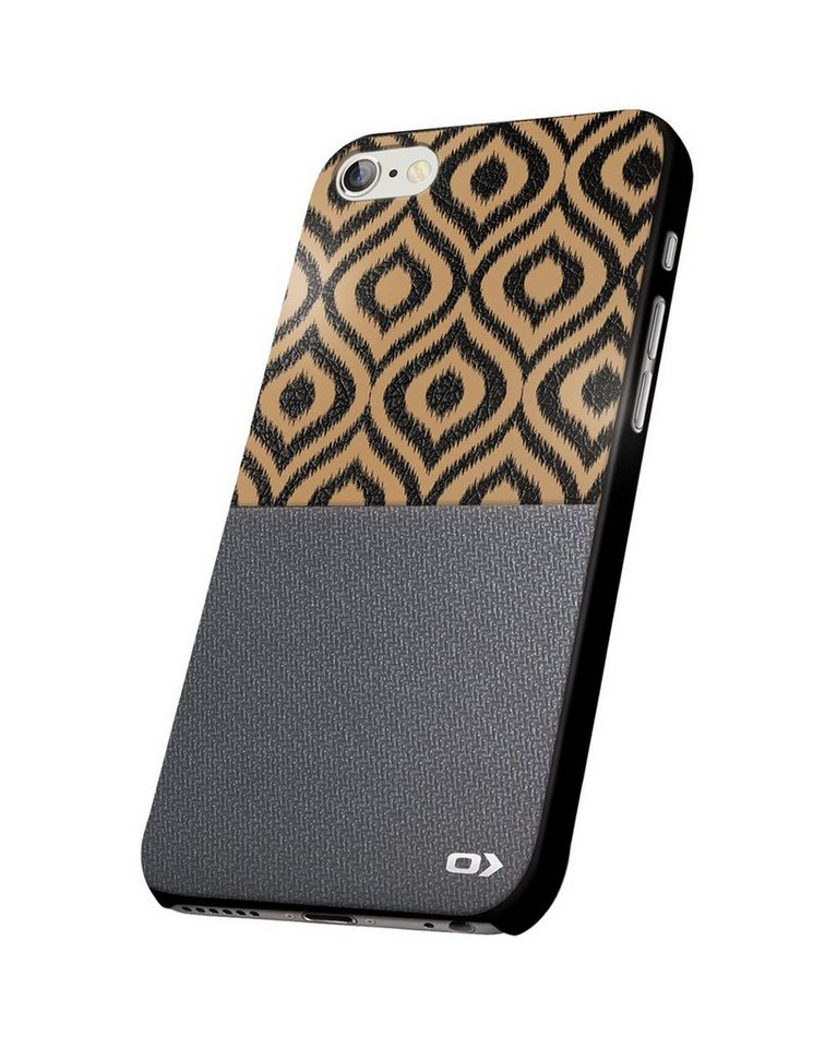 OXO Handytasche »Backcover METALIC für iPhone 6/ 6S« in print-Grau