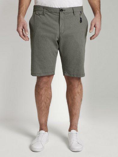 TOM TAILOR Men Plus Chinohose »Josh Regular Slim Chino Shorts«