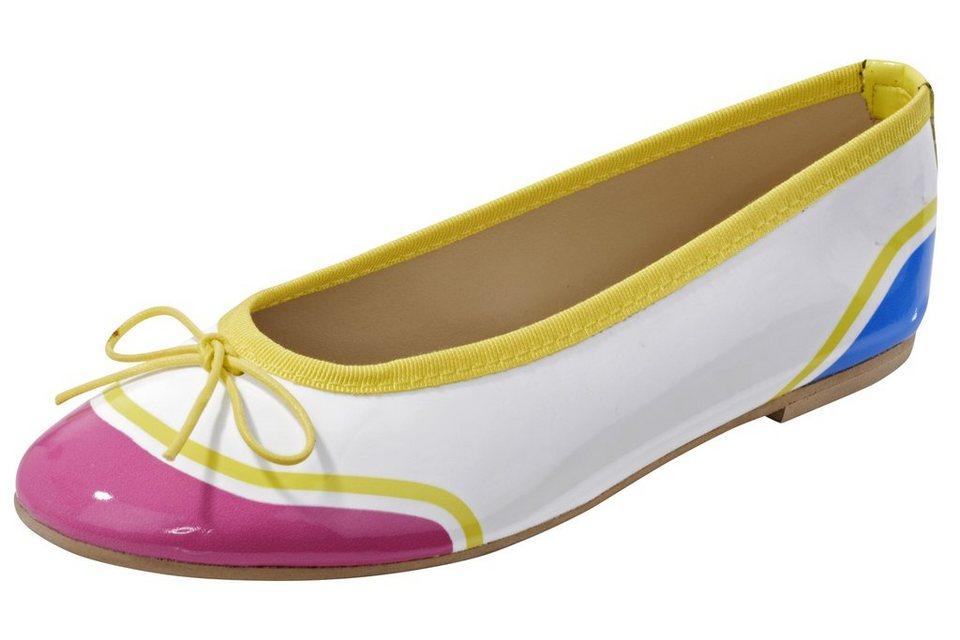 Ballerina in gelb/bunt