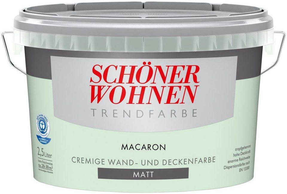 Trendfarbe »macaron«, matt in macaron