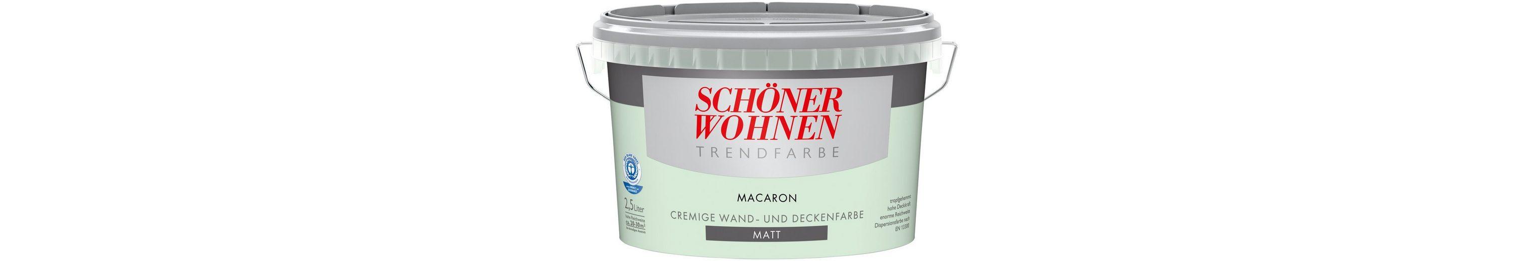 Trendfarbe »macaron«, matt