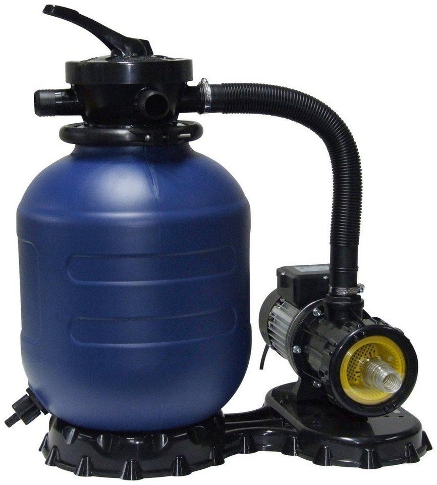Mypool Sandfilteranlage »mp 33-5«, 5 m³/h in blau