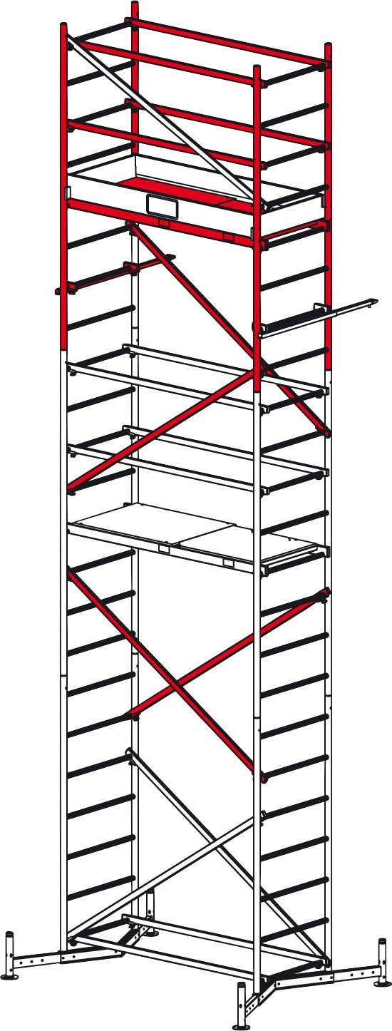 Krause Arbeitsgerüst »ClimTec, 2. Aufstockung«