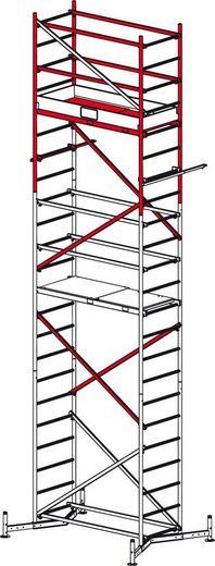 KRAUSE Gerüstzubehör »ClimTec 2. Aufstockung«, Max. Arbeitshöhe 7 m