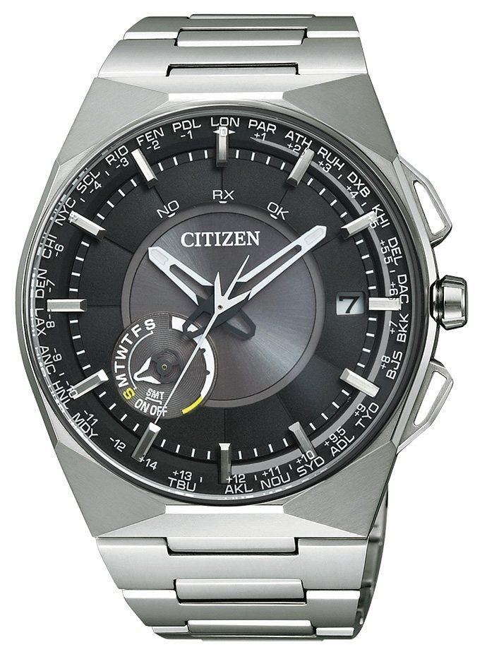 Citizen Solaruhr »CC2006-53E« Mit Satelitte Timekeeping System in silberfarben