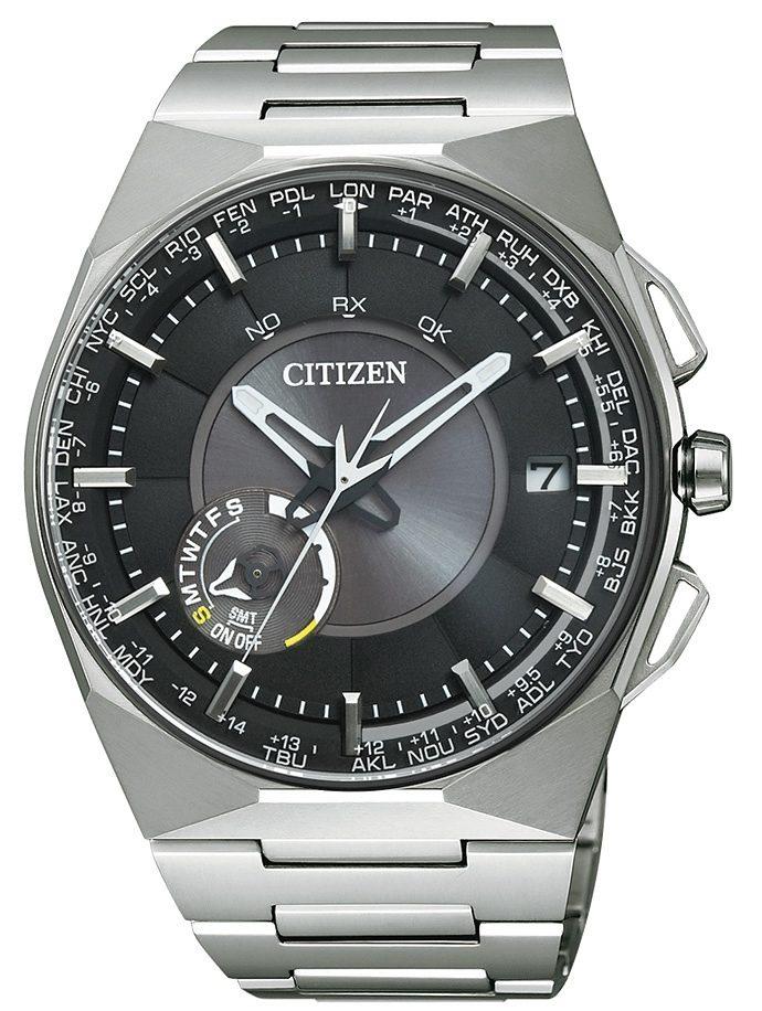 Citizen Solaruhr »CC2006-53E«, mit Satellite Timekeeping System