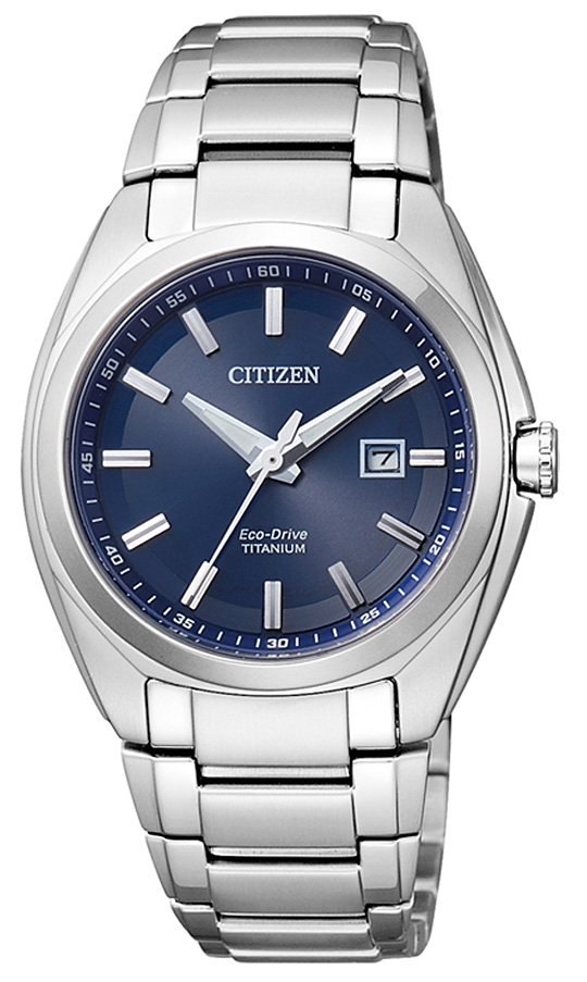 Citizen Armbanduhr mit Gangreserve, »EW2210-53L« in silberfarben