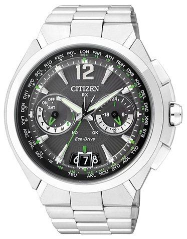 Citizen Funk-Multifunktionsuhr »CC1090-52F« Mit Satelitte Timekeeping System in silberfarben