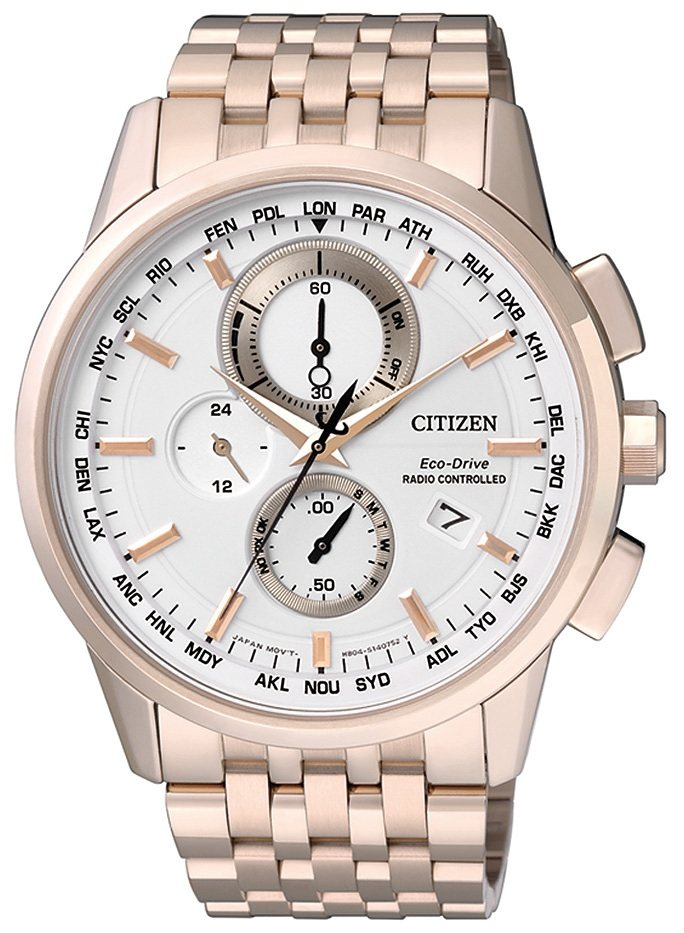 Citizen Funkchronograph »AT8113-55A« in goldfarben