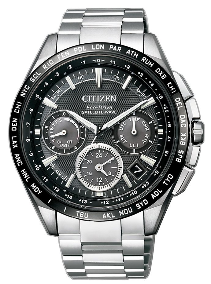 Citizen Chronograph »CC9015-54E« Mit Satelitte Timekeeping System in silberfarben