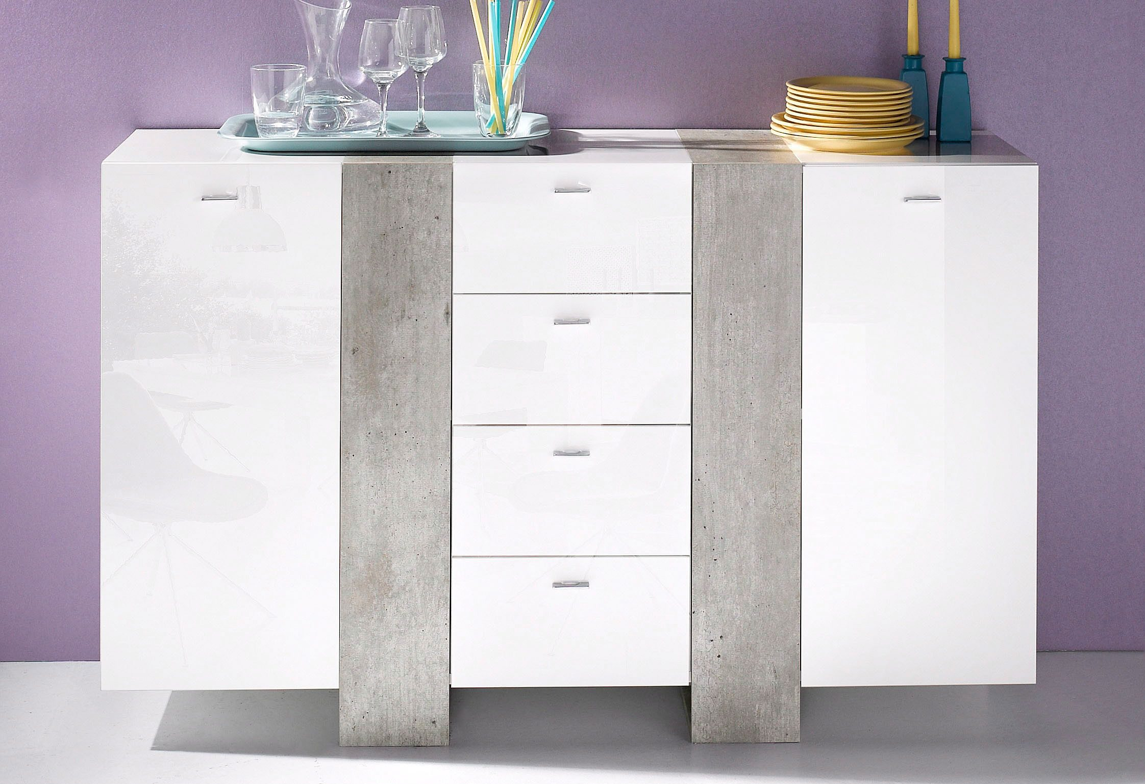 Tecnos Sideboard, Breite 137 bzw. 220 cm