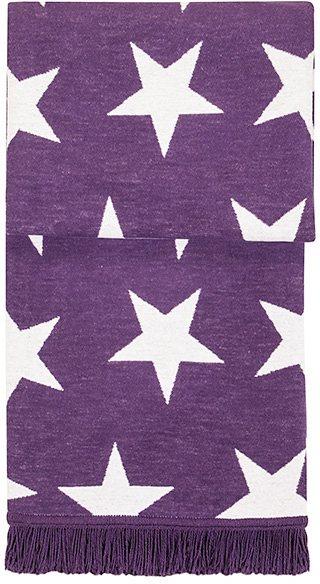 Wohndecke, Pad, »Star«, mit Sternen in lila