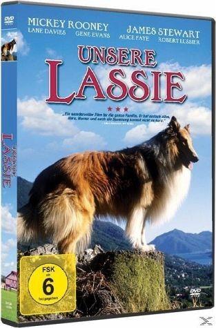 DVD »Unsere Lassie«