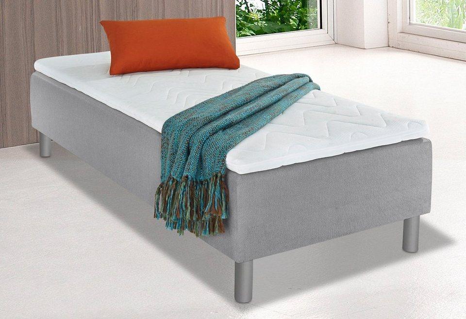 breckle boxspringbett inkl topper einmaliger schlafkomfort in 2 ausf hrungen online kaufen otto. Black Bedroom Furniture Sets. Home Design Ideas