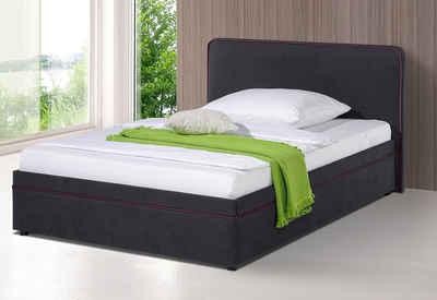 polsterbett mit bettkasten kaufen » top beratung & aufbauservice| otto - Schlafzimmer Betten Mit Bettkasten