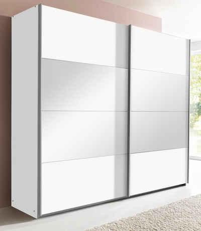 Schwebetürenschrank Weiß Grau | gispatcher.com