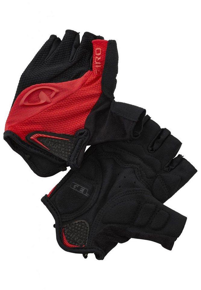 Giro Fahrrad Handschuhe »Bravo Gel Gloves« in rot