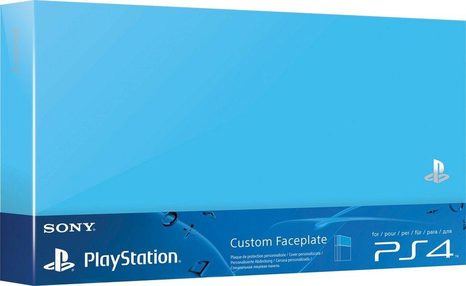 PS4 Festplattenabdeckung in Blau