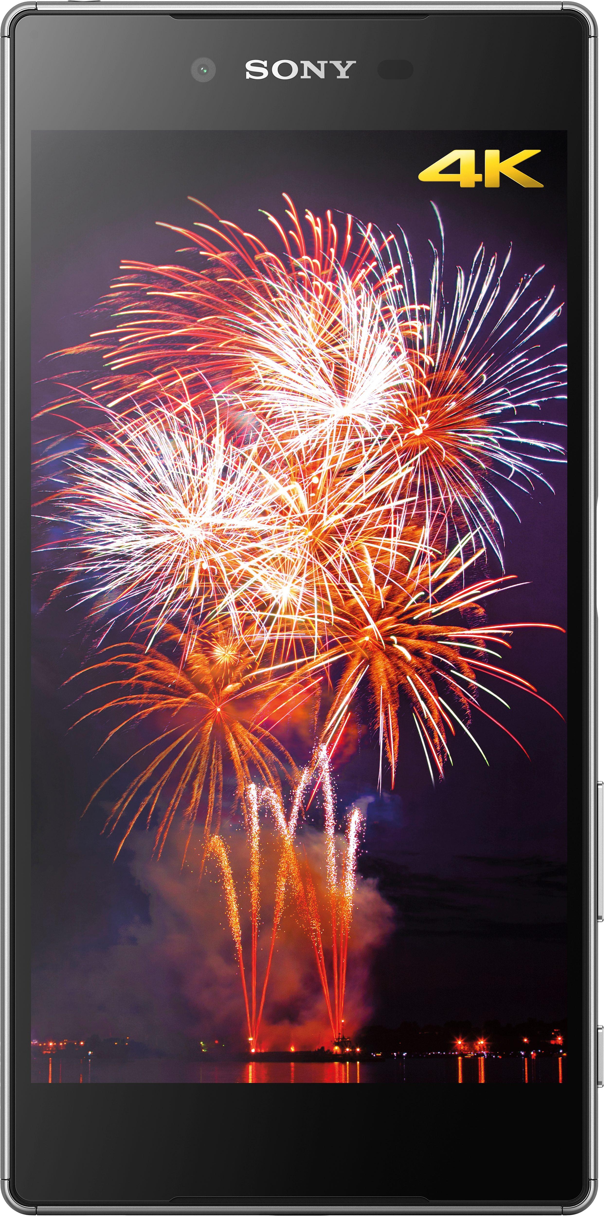 Sony Xperia Z5 Premium Smartphone, 13,9 cm (5,5 Zoll) 4K Display, LTE (4G), mit 3 Jahren Garantie