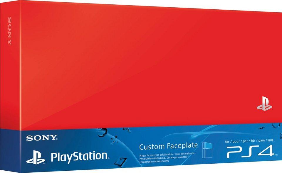 PS4 Festplattenabdeckung in Rot