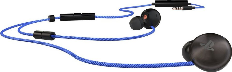 PS4 In-Ear Stereo Headset in schwarz