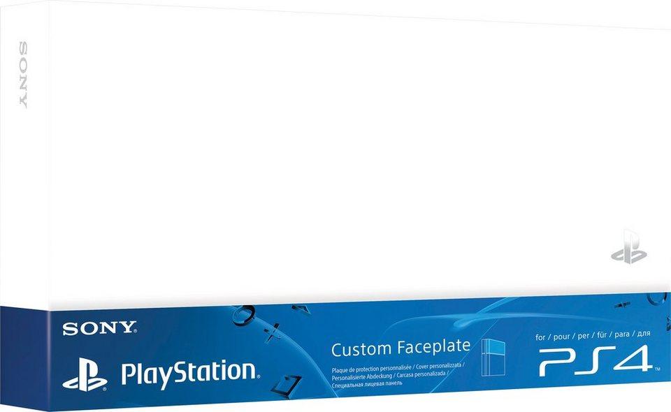PS4 Festplattenabdeckung in Weiß