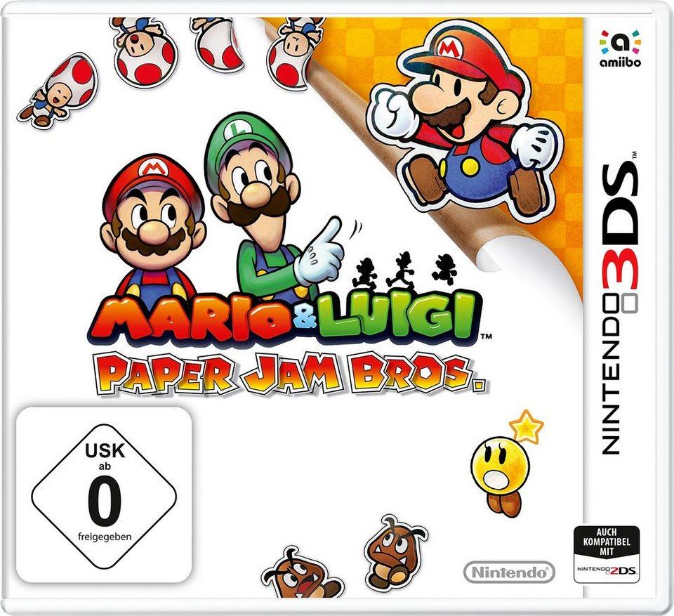Mario & Luigi Paper Jam Bros. Nintendo 3DS