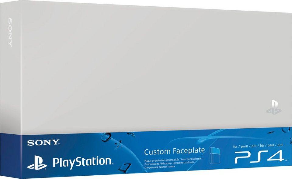 PS4 Festplattenabdeckung in Silberfarben