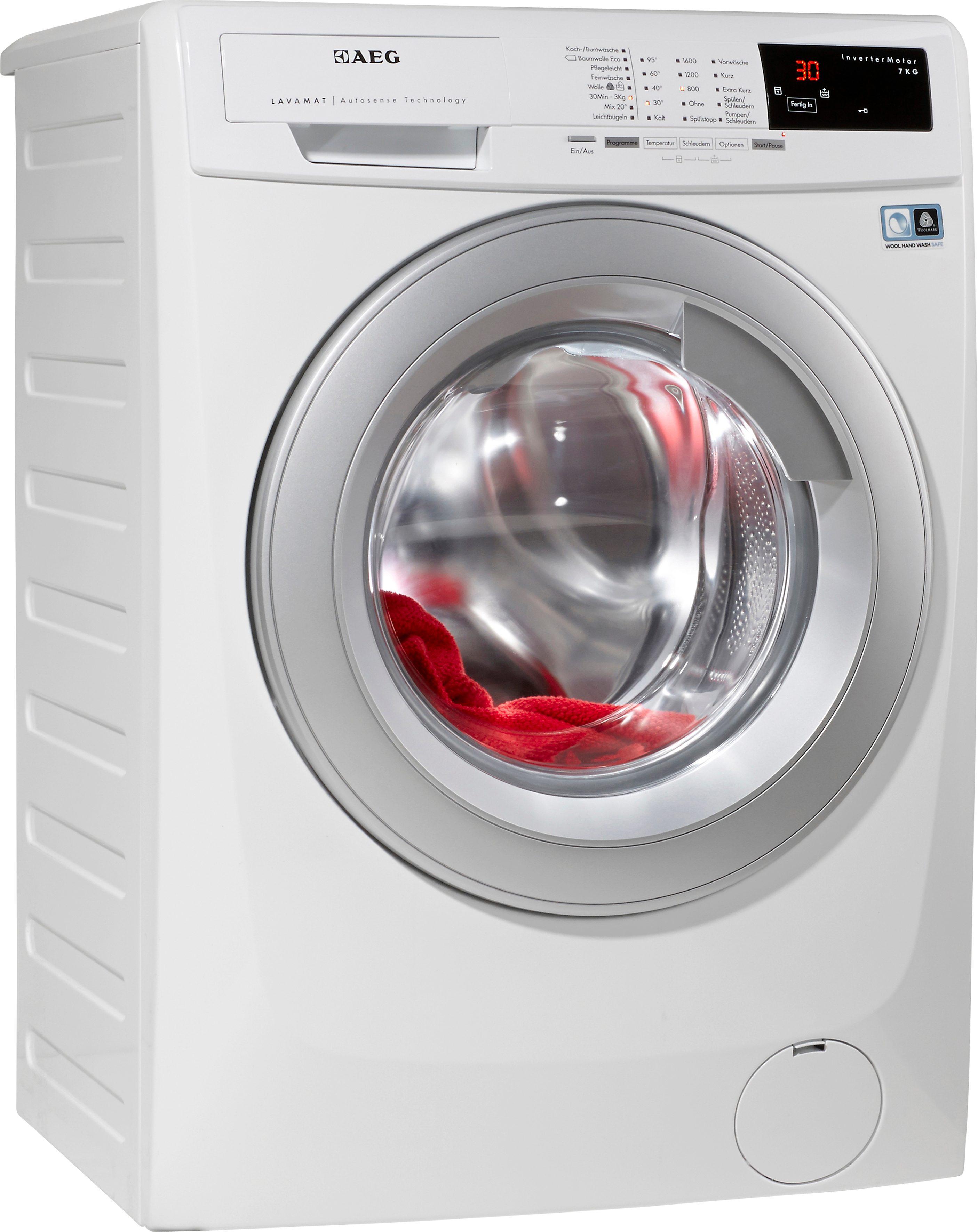 AEG Waschmaschine LAVAMAT L16AS7, A+++, 7 kg, 1600 U/Min