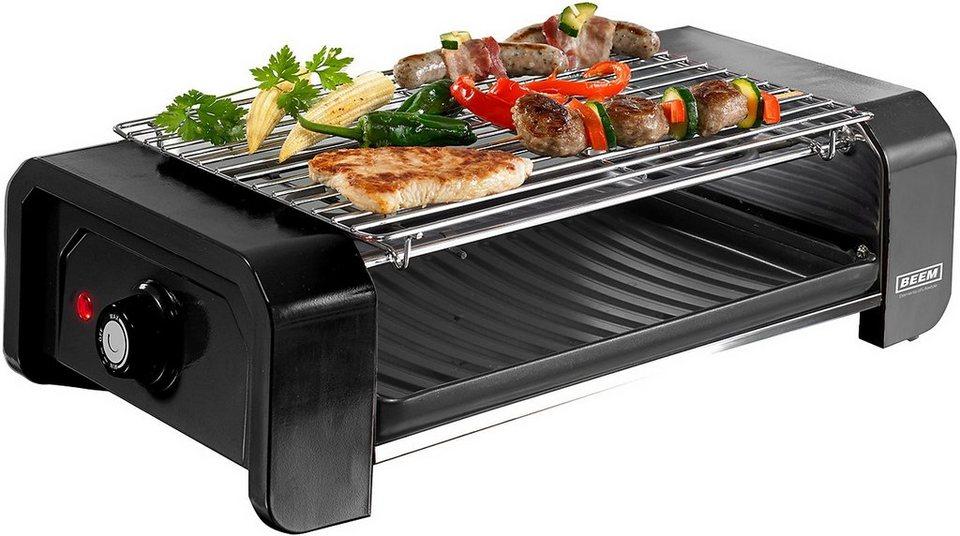 BEEM Grill 4-Joy Toast & Raclette, 900 Watt in Schwarz