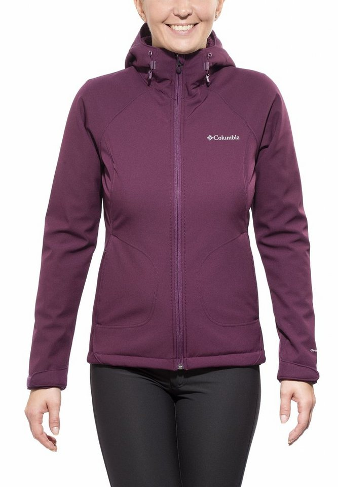 Columbia Softshelljacke »Phurtec II Softshell Women« in lila