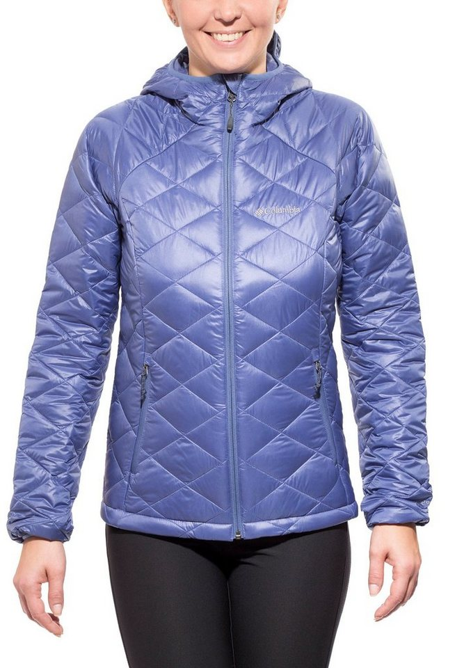 Columbia Outdoorjacke »Trask Mountain 650 TurboDown Hooded Jacket Women« in blau