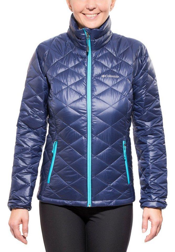 Columbia Outdoorjacke »Trask Mountain 650 TurboDown Jacket Women« in blau