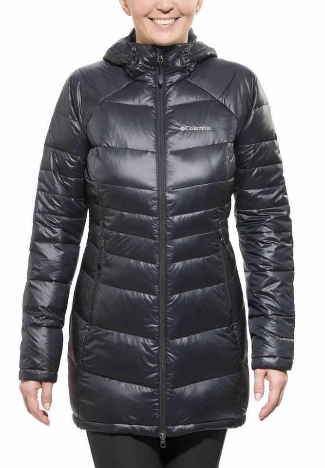 Columbia Outdoorjacke »Gold 650 TurboDown Radial Mid Jacket Women« in schwarz