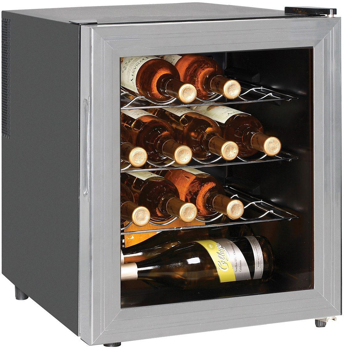 Silva Homeline Thermoelektrischer Weinkühlschrank WKS48TE, Energieklasse B, 43 cm hoch