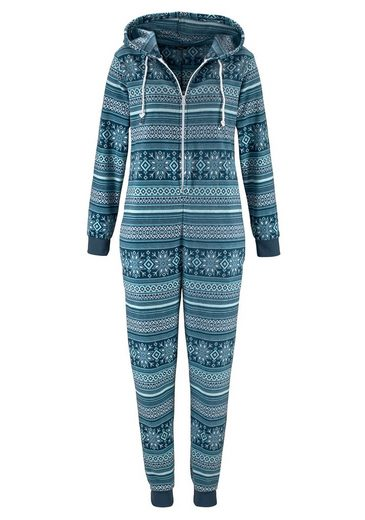 Vivance Dreams Jumpsuit im blauen Norwegerdesign