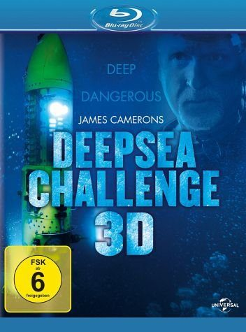 Blu-ray »James Cameron's Deepsea Challenge 3D (Blu-ray 3D)«