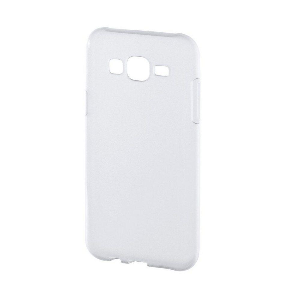 Hama Hülle für Samsung Galaxy J5 Case Schutzhülle Handyhülle »Handy Cover aus flexiblem TPU« in Transparent