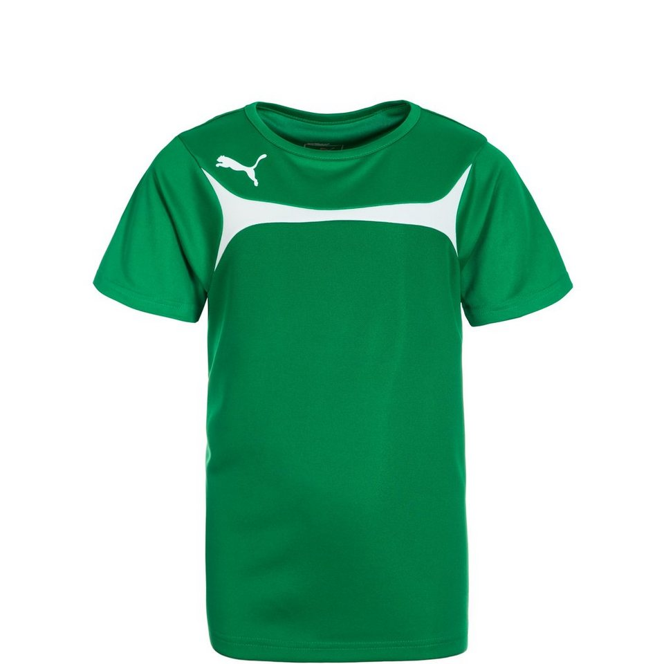 PUMA Esito 3 Trainingsshirt Kinder in grün / weiß