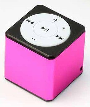 Technaxx MP3-Player »MusicMan Mini Style MP3 Player TX-52 pink«