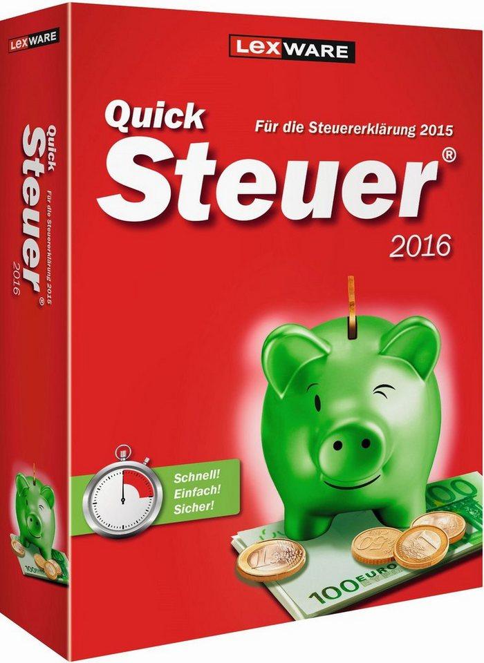Lexware Finanzen/Steuer »Quicksteuer 2016«