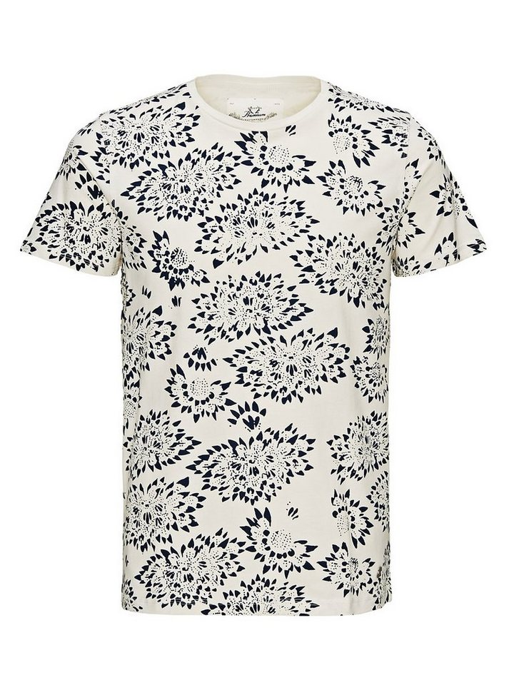 Jack & Jones Bedrucktes T-Shirt in Whisper White