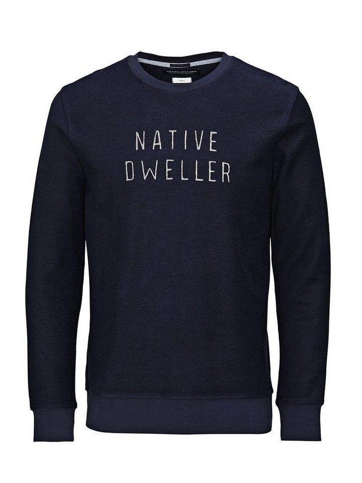 Jack & Jones Vielseitiges Sweatshirt in Navy Blazer