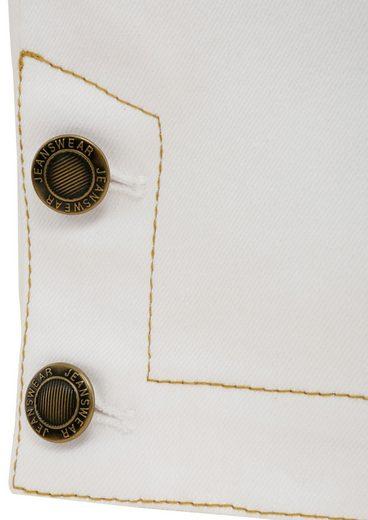 Trachtenhose 3/4 Damen mit edler Goldstickerei