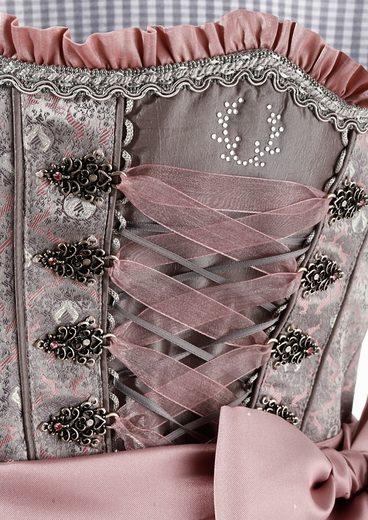Country Line Dirndl midi mit dekorativer Bänderschnürung