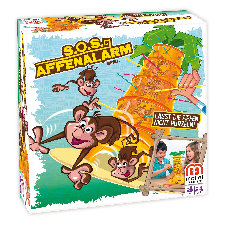Mattel Gesellschaftsspiel »Mattel Games« S.O.S Affenalarm