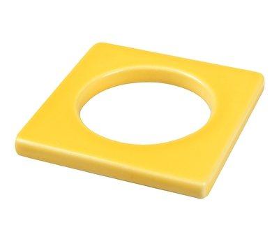 CULTDESIGN Cult Design Manschette für Teelichthalter gelb in gelb
