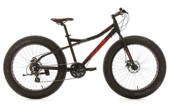 KS Cycling Fatbike »SNW2458«, 24 Gang Shimano Altus Schaltwerk, Kettenschaltung