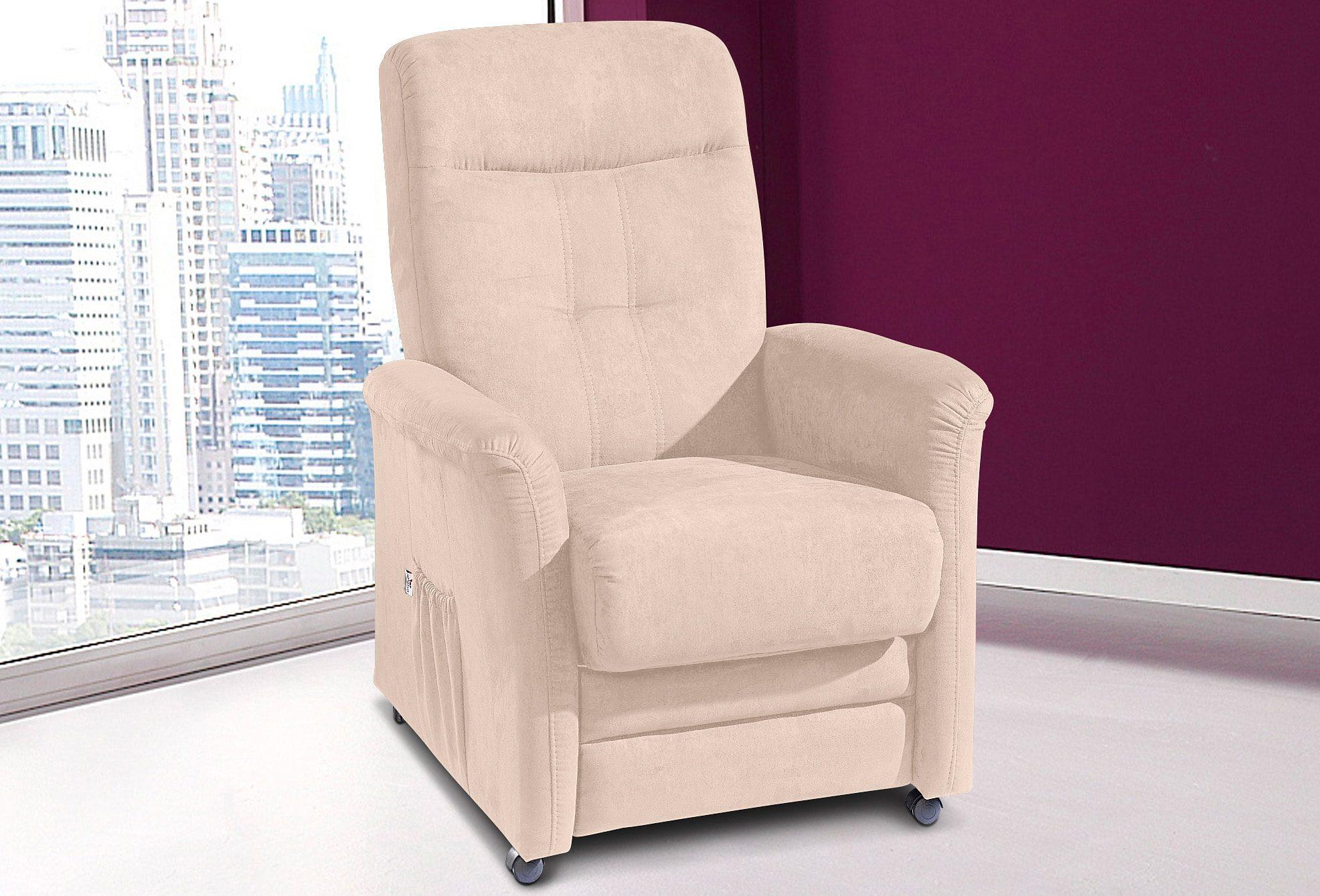 sit&more TV Sessel, wahlweise mit Motor und Aufstehhilfe, In 4 Bezugsqualitäten online kaufen | OTTO